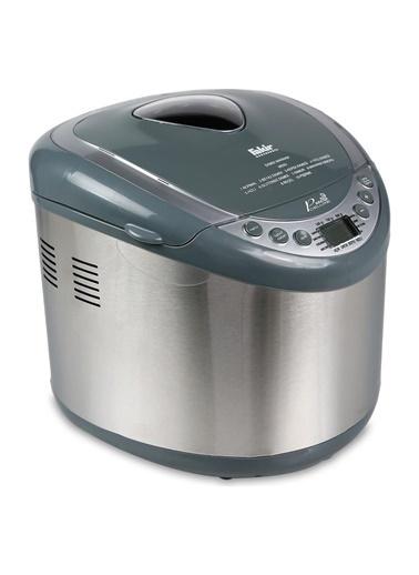 Fakir Fakir Paslanmaz Çelik Lcd Ekranlı Hızlı Pişirilebilen  Ve Renk Pane Deluxe Ekmek Yapma Makinesi Renkli